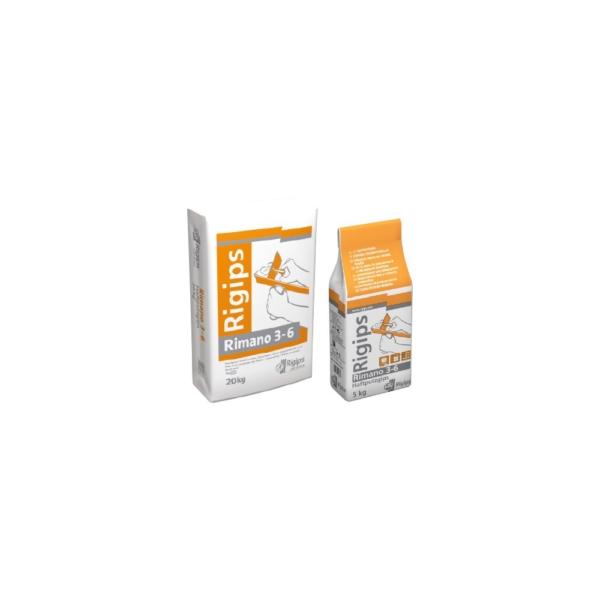 Rigips Rimano 3-6 gipszes vékonyvakolat 20 kg
