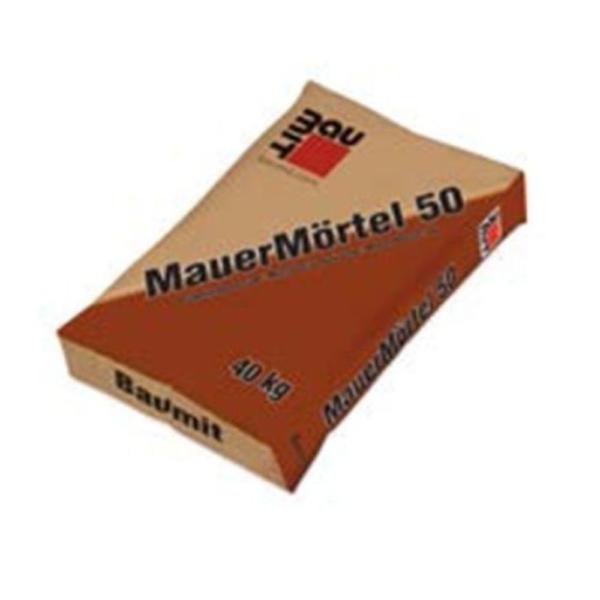 Baumit Falazóhabarcs 50 (MauerMörtel) 40 kg