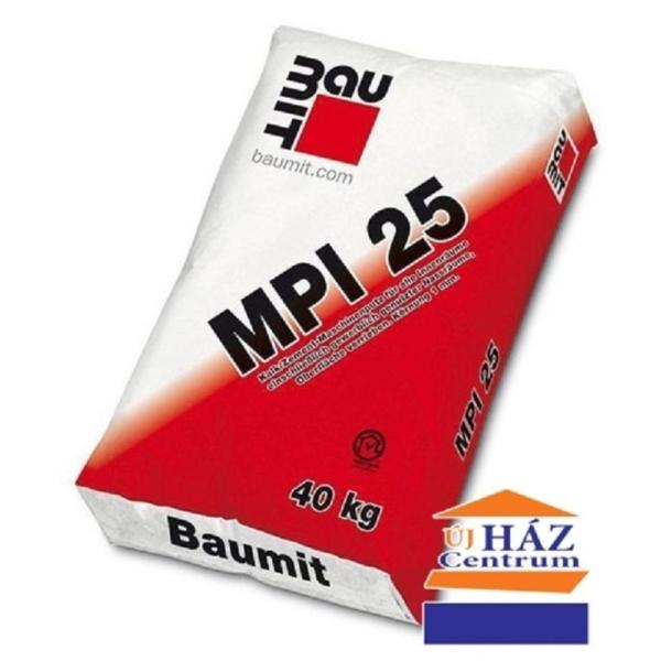 Baumit MPI 25 (GV 25 belső gépi vakolat) 40 kg