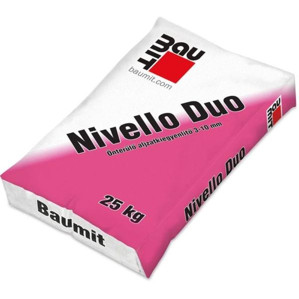 Baumit Nivello Duo Önterülő aljzatkiegyenlítő, beltéri 3-10 mm 25 kg