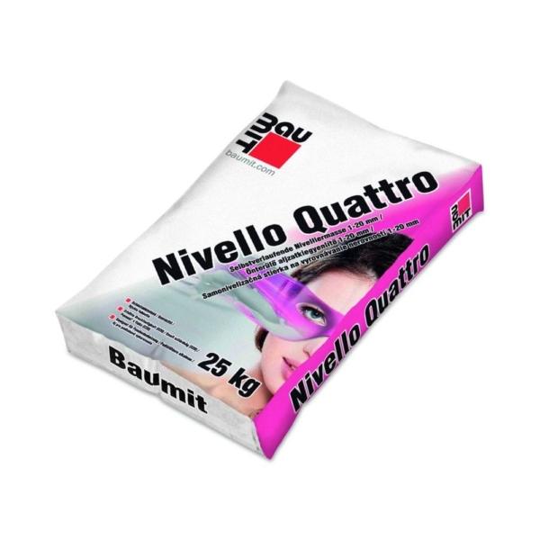 Baumit Nivello Quattro Önterülő aljzatkiegyenlítő, beltéri 1-20 mm 25 kg
