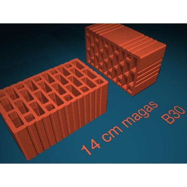 Berényi B 30 Falazóelem 300x175x140 mm (140 db/rkl)