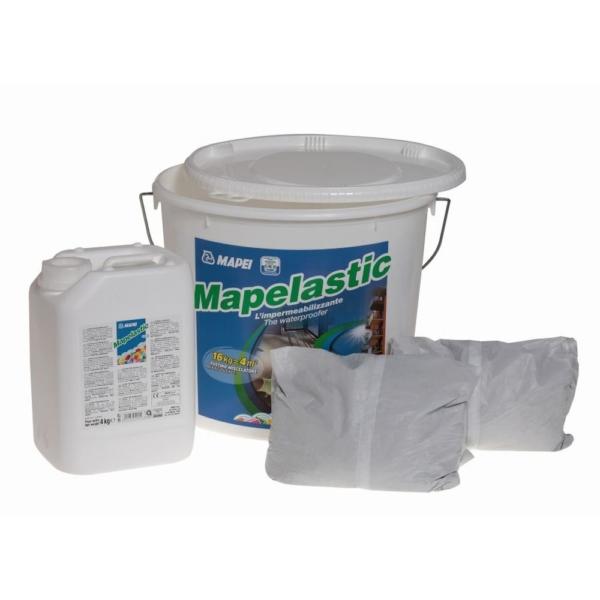 Mapei Mapelastic A+B komp. Kenhető vízszigetelő 16 kg
