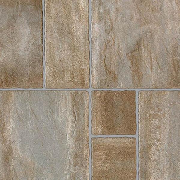 Semmelrock Suprema, kombi Térkő melírozott szürkésbarna 6 cm
