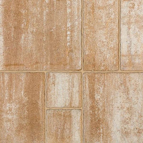 Semmelrock Suprema, kombi Térkő melírozott sárgásbarna 6 cm