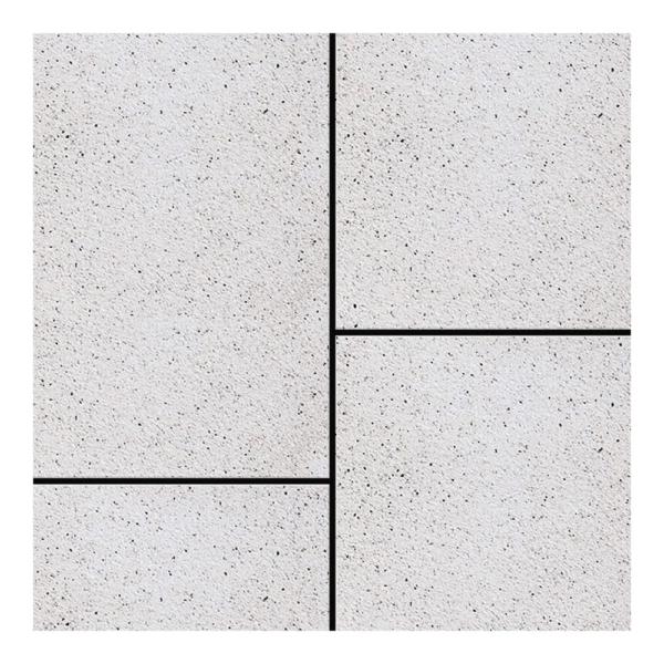 Semmelrock Perla Kombi térkő bianco 6 cm