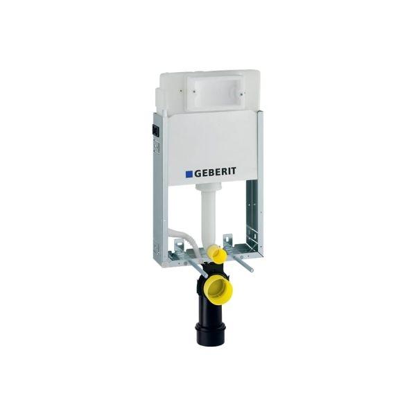 Geberit KombifixBasic WC szerelőelem fali WC részére Delta öblítőtartállyal Delta nyomólaphoz