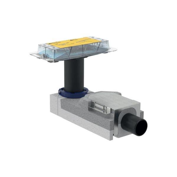 Geberit beépítő alapkészlet zuhanyfolyókához, építési magasság 90 mm vízzár magasság 50 mm, d50