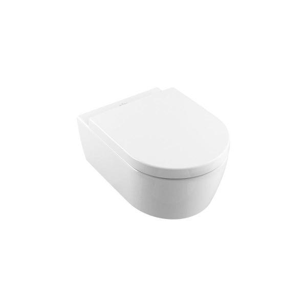 Villeroy ZZT Kombipack falra szerelhető, DirectFlush, mélyöblítésű WC DirectFlush 5656 R0 XX, WC-