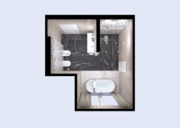 3D látványterv ABK Sensi burkolattal