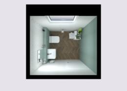 3D látványterv FAP Color Line és FAP Nest burkolattal