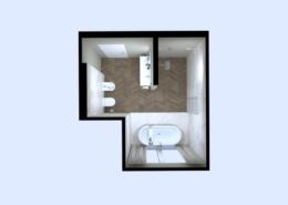 3D látványterv FAP Nest, Roma Diamond és Bloom burkolattal